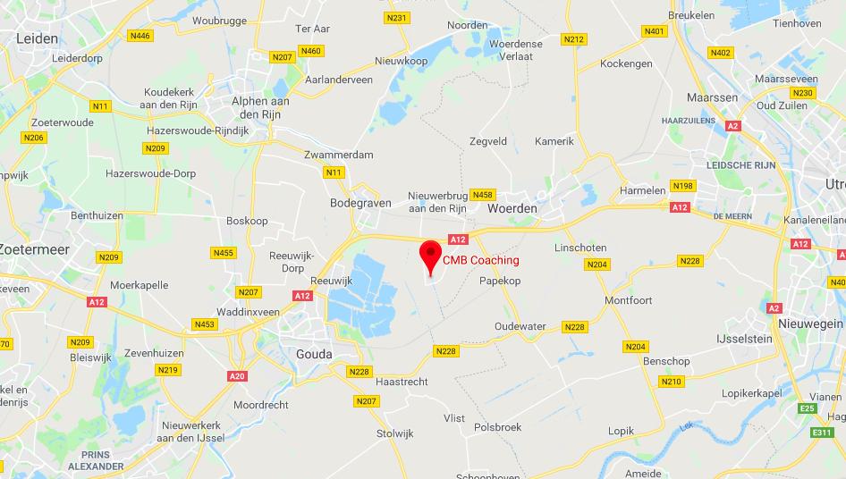 Driebruggen ligt in het Groene Hart, in de regio Woerden - Bodegraven - Gouda